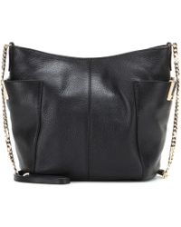Jimmy Choo Anabel Leather Shoulder Bag - Lyst