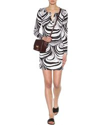 Diane von Furstenberg Reina Printed Silk Dress - Lyst