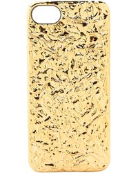Marc By Marc Jacobs Foil Phone Case For Iphone 5 and 5s - Lyst