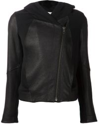 Helmut Lang Hooded Jacket - Lyst