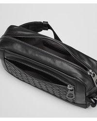 Bottega Veneta Nero Intrecciato Light Calf Belt Bag - Lyst