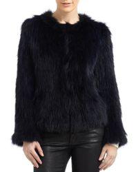 Joie Isla Fur Jacket - Lyst
