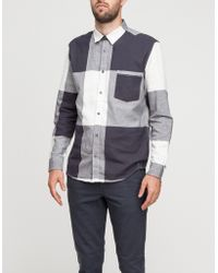 Cheap Monday Neo Shirt in Gamma Check - Lyst