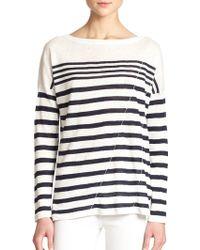 Rag & Bone/JEAN Christa Striped Sweater - Lyst