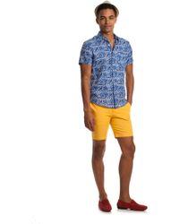 Mr Turk Slim Jim Shirt blue - Lyst
