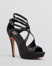 Dv By Dolce Vita Open Toe Platform Sandals - Brielle High Heel - Lyst