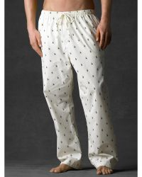 Polo Ralph Lauren Allover Pony Sleep Pant - Lyst