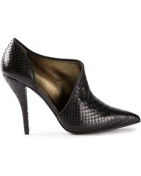 Lanvin Low Cut Booties - Lyst