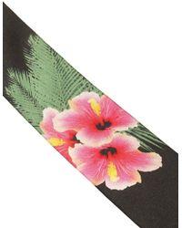 Lords & Fools - 6cm Floral Printed Silk Tie - Lyst