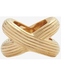 Giles & Brother - Large X Knot Ring - Lyst