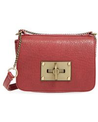 Nila Anthony - Faux-Leather Cross-Body Bag - Lyst