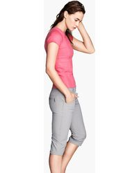 H&M Gray Outdoor Trousers - Lyst