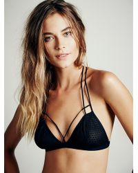 Free People Fish in The Sea Strappy Bra - Lyst