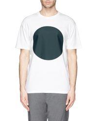 Mauro Grifoni Circle Print T-Shirt - Lyst