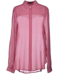 Gucci Purple Shirt - Lyst