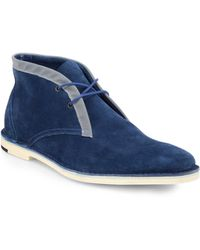 Pierre Hardy Suede Chukka Boots - Lyst