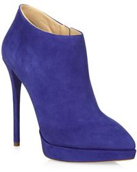 Giuseppe Zanotti Cameroon Suede Ankle Boot - Lyst