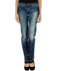 D&G B Denim Pants - Lyst
