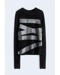 Zadig & Voltaire Pic Deluxe C Sweater - Lyst