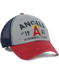 47 Brand Los Angeles Angels Of Anaheim Flathead Cap - Lyst