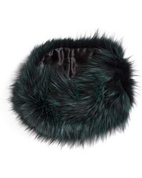 Badgley Mischka - Genuine Fox Fur Infinity Scarf - Lyst