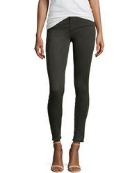 J Brand Maria Highrise Skinny Sateen Jeans - Lyst