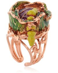 Vernissage Jewellery - Cabbage Ring - Lyst