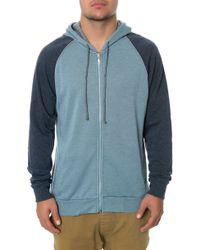 Alternative Apparel The Light French Terry Zip Hoodie - Lyst