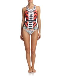 Clover Canyon One-Piece Neoprene Swimsuit - Lyst