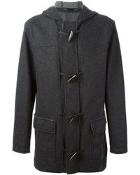 Michael Kors Raw Edges Duffle Coat - Lyst