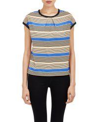Sea Silky T-Shirt blue - Lyst