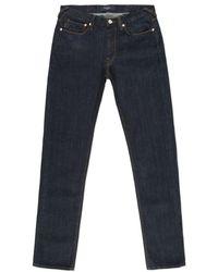 Paul Smith Slim-Fit Indigo Slub Denim Jeans - Lyst