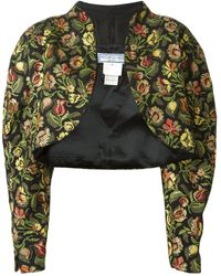 Yves Saint Laurent Vintage Multicolour Floral Bolero Jacket - Lyst