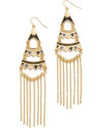 Adia Kibur - Stella Chandelier Earrings - Lyst