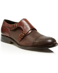 Johnston & Murphy - Decatur Double Monk Strap Shoes - Lyst