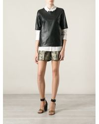 Forte Forte Distressed Effect Shorts - Lyst