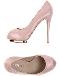 Le Silla Court pink - Lyst