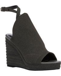 Balenciaga Glove Wedge Sandals - Lyst