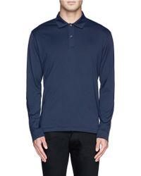 Sunspel Cotton Jersey Polo Shirt - Lyst