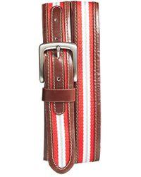 Jack Mason Brand - 'tailgate - Ohio State Buckeyes' Belt - Lyst