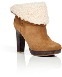 Ugg Suede Dandylon Ankle Boots in Chestnut - Lyst