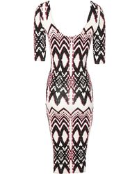 Jane Norman Gypset Print Midi Dress - Lyst
