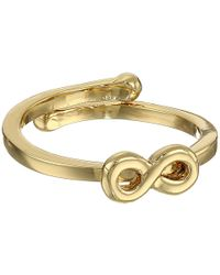 Kate Spade Things We Love Infinity Adjustable Ring - Lyst