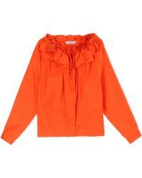 Jil Sander   Long Sleeve Shirt   Lyst