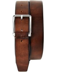 Trafalgar - 'garrett' Leather Belt - Lyst