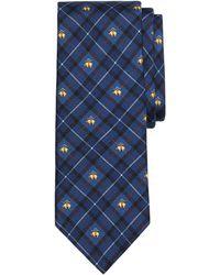 Brooks Brothers Holiday Plaid Print Tie - Lyst