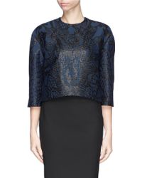 Ms Min Dragon Jacquard Shell Top - Lyst