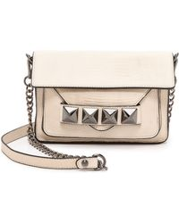 Linea Pelle Grayson Bar Bag  Stone - Lyst