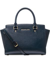 Michael Kors Michael Selma Medium Satchel - Lyst
