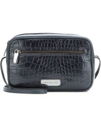 Marc By Marc Jacobs Sally Embossed-Leather Shoulder Bag - Lyst